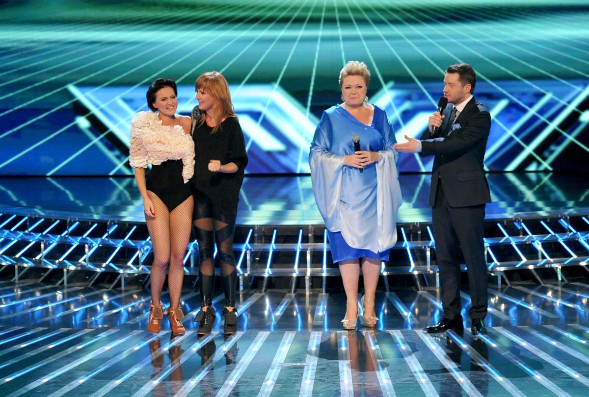 Dziewczyny i Małgorzata Szczepańska-Stankiewicz w piątym odcinku na żywo